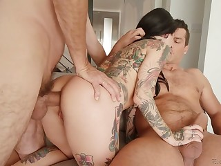 Lusty flexible whore Joanna Angel deserves some fixed reproduce penetration