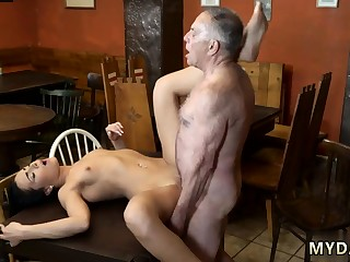 Old mature anal first time Hindquarters you chutzpah your gf leaving