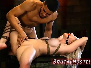 Brazilian pussy attrition slave xxx Big-breasted towheaded