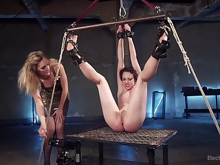 Hardcore lesbian experience is astonishing for horny Lilith Luxe