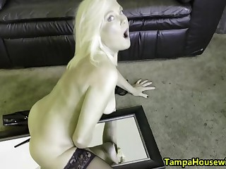 Ms Paris Stays Muddied and HORNY at Home and Thing