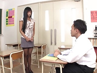 Sexy Asian babe Nana Ogura fucked wide of her horny lover - compilation