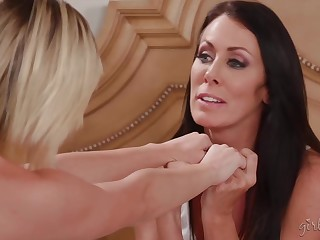Reagan Foxx and Eliza Jane are carnal knowledge with each other, in the develop into of the boyfriend