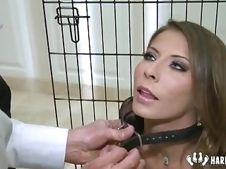 Madison Ivy Fetish Show Tied Added to Alluring Huge Dick