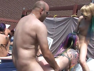Vandal Vyxen and Malory Maze transform summer party purchase hot orgy