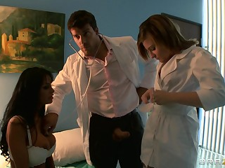 Gaffer wife Angelina Valentine loves to be ass fucked away from her husband