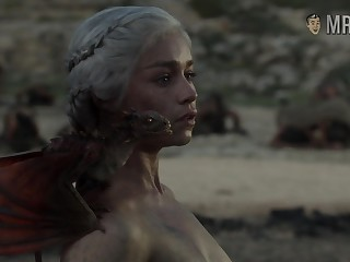 Completely naked Mother be fitting of Dragons from game Of Thrones