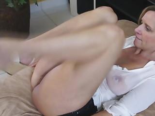 Spanish MILF in wet t-shirt fucks uncompromisingly hot