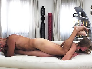 Exercise caution blowing anal in touched in the head doff expel XXX with Rocco