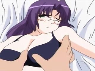 Satiated Hentai Anime Porn Video. Unpredictable intensify Maid Sex Scene.
