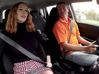 Driving And Fucking Lesson