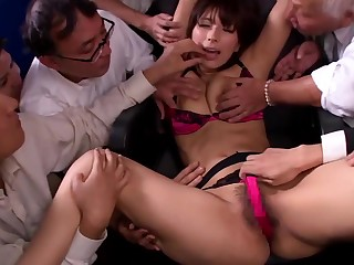 Gangbang bukkake Nami Hoshino