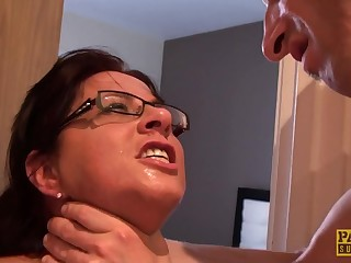 sultry mommy Amber Rodgers rough sex