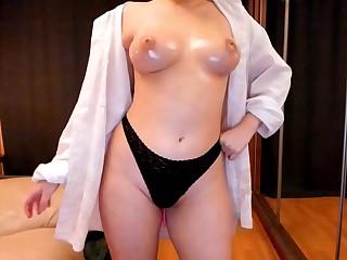 Skinny Nipponese babe ravishing sexual relations clip